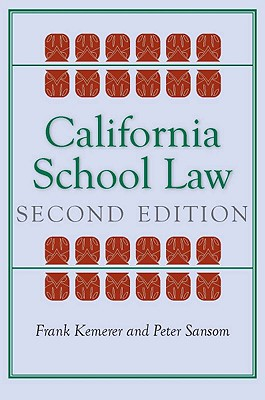 Image for California School Law: Second Edition (Stanford Law Books)