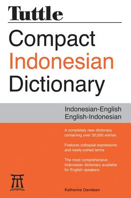 Tuttle Compact Indonesian Dictionary, Davidsen, Katherine