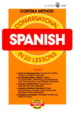 Image for Conversational Spanish in 20 Lessons (Cortina method)