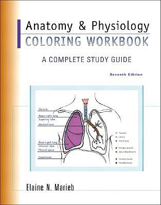 Image for Anatomy & Physiology Coloring Workbook: A Complete Study Guide (7th Edition)
