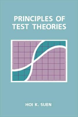Image for Principles of Test Theories