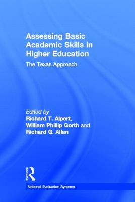 Image for Assessing Basic Academic Skills in Higher Education: The Texas Approach