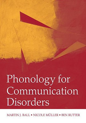 Image for Phonology for Communication Disorders