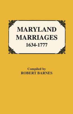 Image for Maryland Marriages, 1634-1777