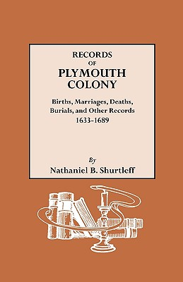 Image for Records of Plymouth Colony