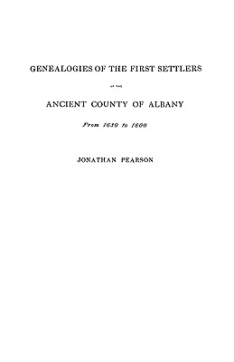 Image for Contributions for the Genealogies of the First Settlers of the Ancient County of Albany [NY], from 1630 to 1800