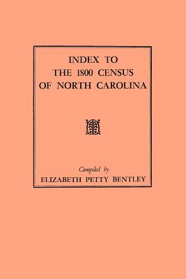 Image for Index to the 1800 Census of North Carolina