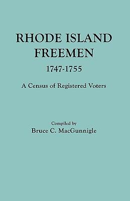 Image for Rhode Island Freemen, 1747-1755