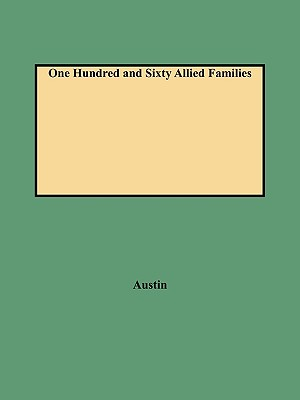Image for One Hundred and Sixty Allied Families