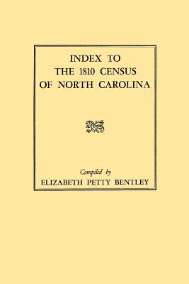 Image for Index to the 1810 Census of North Carolina