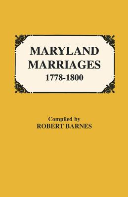 Image for Maryland Marriages, 1778-1800