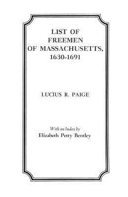 Image for List of Freemen of Massachusetts, 1630-1691