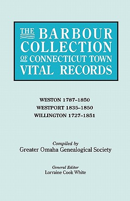 Image for The Barbour Collection of Connecticut Town Vital Records [Vol. 51]