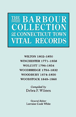 Image for The Barbour Collection of Connecticut Town Vital Records [Vol. 53]