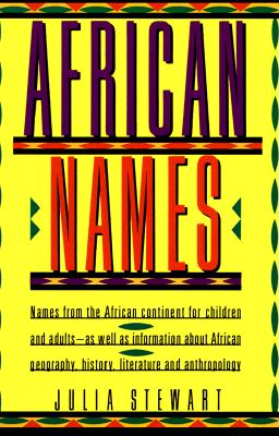 Image for African Names: Names from the African Continent for Children and Adults