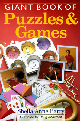 Image for Giant Book of Puzzles & Games