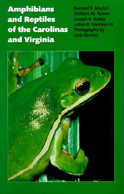 Image for Amphibians and Reptiles of the Carolinas and Virginia