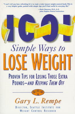 Image for 1001 Simple Ways to Lose Weight: Proven Tips for Losing Those Extra Pounds-- And Keeping Them of