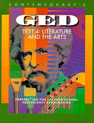Contemporary's Ged Test 4: Literature and the Arts (Contemporarys Ged Satellite), Romanek, Elizabeth