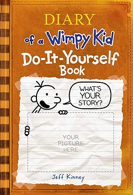 DIARY OF A WIMPY KID DO IT YOURSELF BOOK, JEFF KINNEY