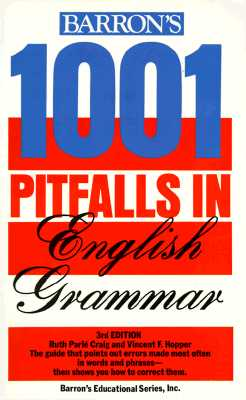 Image for 1001 Pitfalls in English Grammar