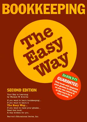 Image for BOOKKEEPING THE EASY WAY 2ND ED.
