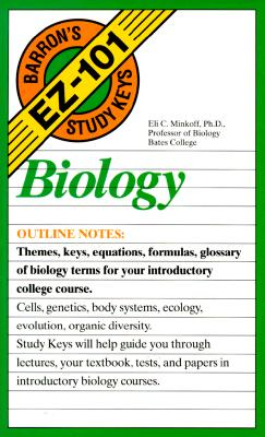 Image for Biology (Barron's Ez-101 Study Keys)