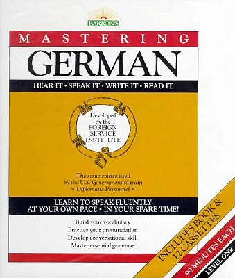 Image for Mastering German-With Book (Foreign Service Institute Language     Series)