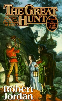 GREAT HUNT (WHEEL OF TIME, NO 2), JORDAN, ROBERT