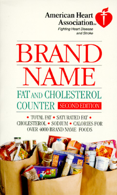 Image for American Heart Association Brand Name Fat and Cholesterol Counter, Second Edition