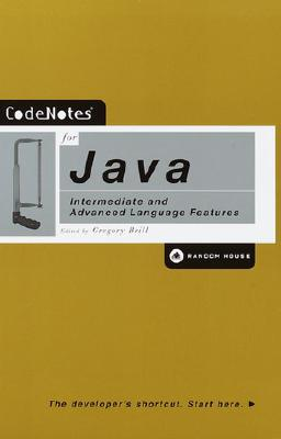 Image for CodeNotes for Java: Intermediate and Advanced Language Features