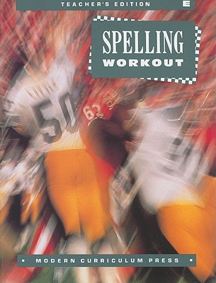 Image for Spelling Workout E, Grade 5 (Teachers Edition)