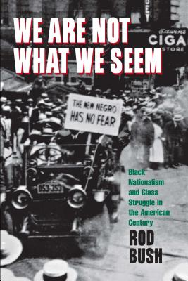 Image for We Are Not What We Seem: Black Nationalism and Class Struggle in the American Century