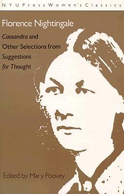 Image for Florence Nightingale: 'Cassandra' and 'Suggestions for Thought' (Women's Classics)