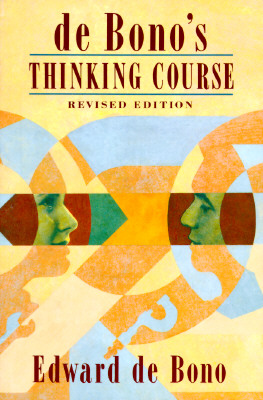 Image for De Bono's Thinking Course