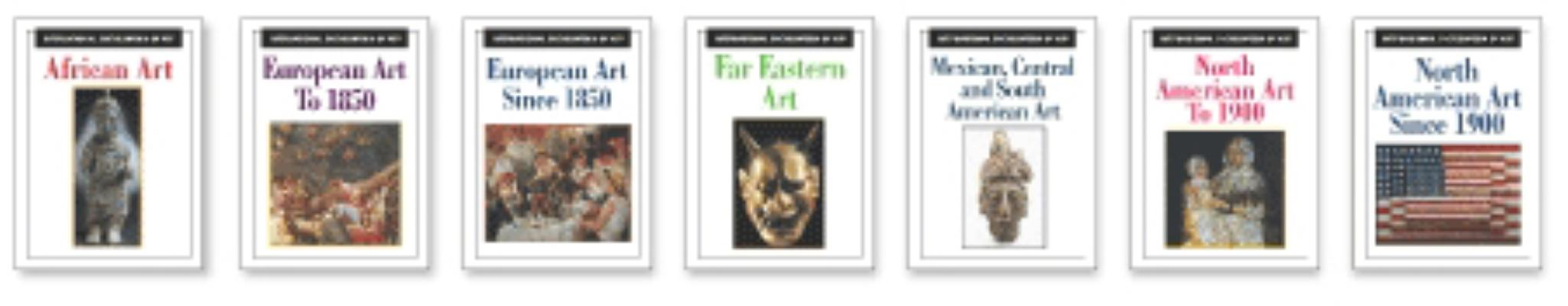 Image for International Encyclopedia of Art (8 volume set)