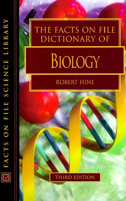 Image for The Facts on File Dictionary of Biology