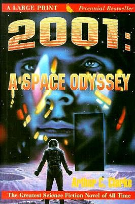 Image for 2001: A Space Odyssey (G K Hall Perennial Large Print Book)