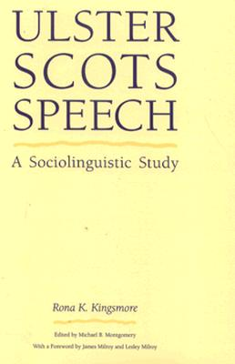 Image for Ulster Scots Speech: A Sociolinguistic Study