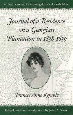 Image for Journal of a Residence on a Georgian Plantation in 1838-1839 (Brown Thrasher Books)