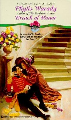 Image for Breach of Honor (A Zebra Regency Romance)