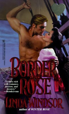 Image for Border Rose (Zebra Splendor Historical Romances)