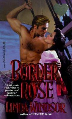Image for Border Rose (Zebra Splendor Historical Romances)
