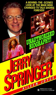 Image for Jerry Springer Biography (Zebra Book)