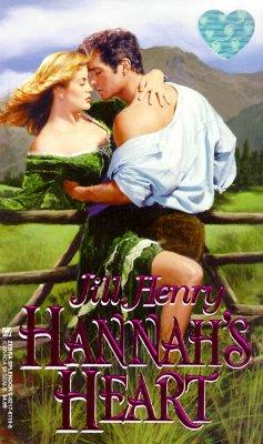 Hannah's Heart (Zebra Splendor Historical Romances), Jill Henry