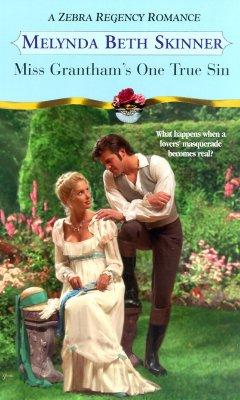 Image for Miss Grantham's One True Sin (Zebra Regency Romance)