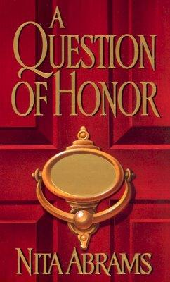 Image for A Question Of Honor (Zebra Regency Romance)