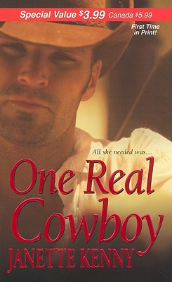 Image for One Real Cowboy (Zebra Debut)