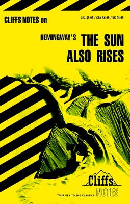 Image for Cliffsnotes the Sun Also Rises