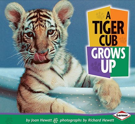 Image for A Tiger Cub Grows Up (Baby Animals)